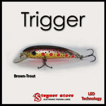 Balista Trigger LED fishing lure Brown-Trout