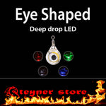Eye shaped LED deepdrop