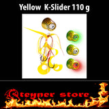 Glowbite Kabura K-Slider Yellow LED Fishing lure 110 g