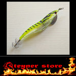 Lime LED Squid Jig