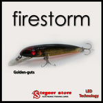 Balista Firestorm LED fishing lure Golden guts