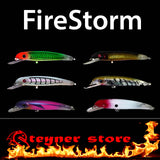 Balista Firestorm LED fishing lure colors
