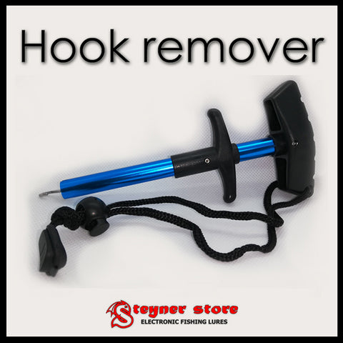 Easy hook remover 17 cm blue