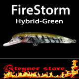 Balista Firestorm LED fishing lure Hybrid green