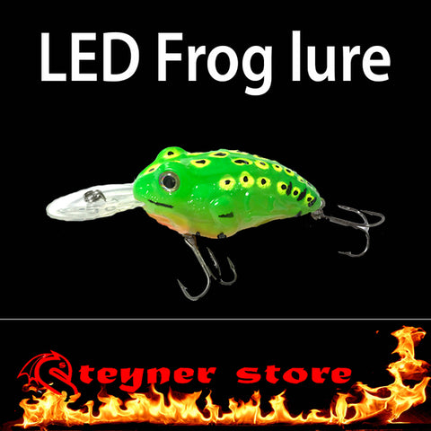 LED Frog fishing Lure