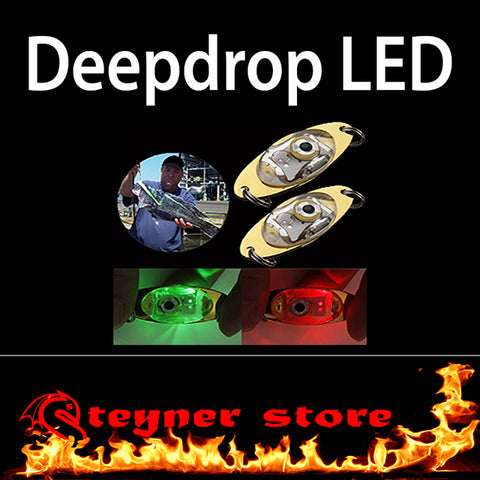 LED deepdrop fishing lure
