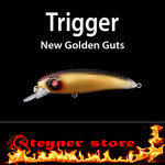 Balista trigger New Golden guts LED fishing lure
