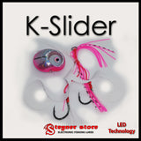 Glowbite Kabura K-Slider Pink LED Fishing lure