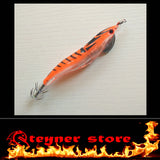 Orange LED Squid Jig