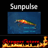 Sunpulse LED fishing lure