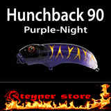 Balista Hunchback 90 LED fishing lure Purple night