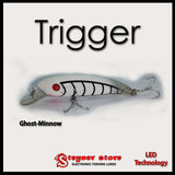 Balista Trigger LED fishing lure Ghost-Minnow