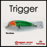 Balista Trigger LED fishing lure Fire-Green