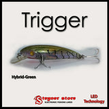 Balista Trigger LED fishing lure Hybrid-Green