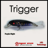 Balista Trigger LED fishing lure Purple-Night