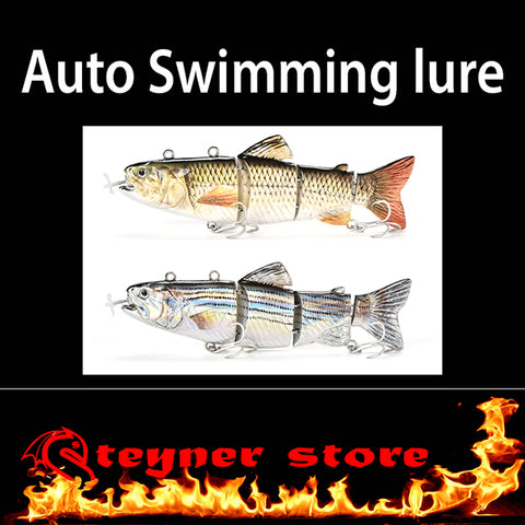 Automatic swim bait lure