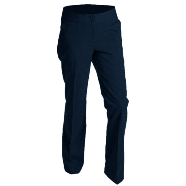"Trousers Ladies 200 Stretch Navy (22""-26"")"