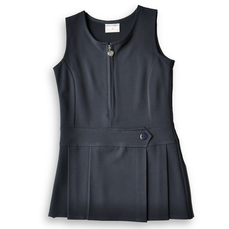 Pinafore Stretch Navy