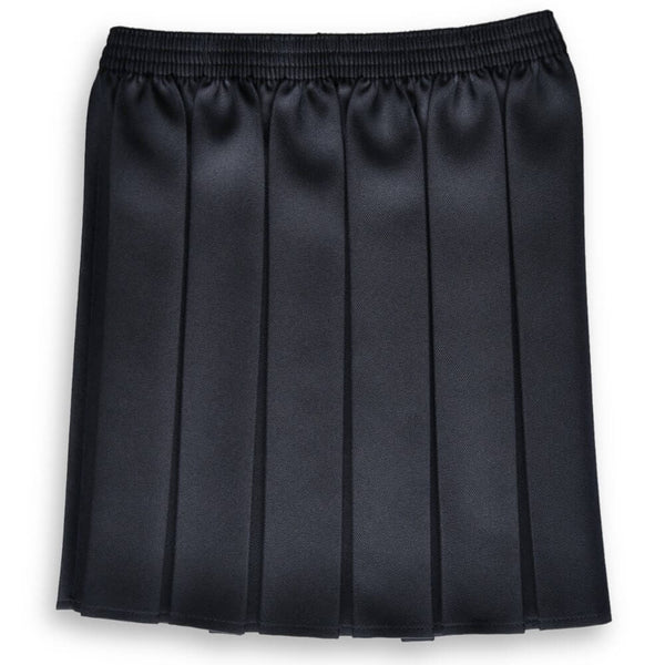Skirt EW Box Pleat Navy (age 11-14)