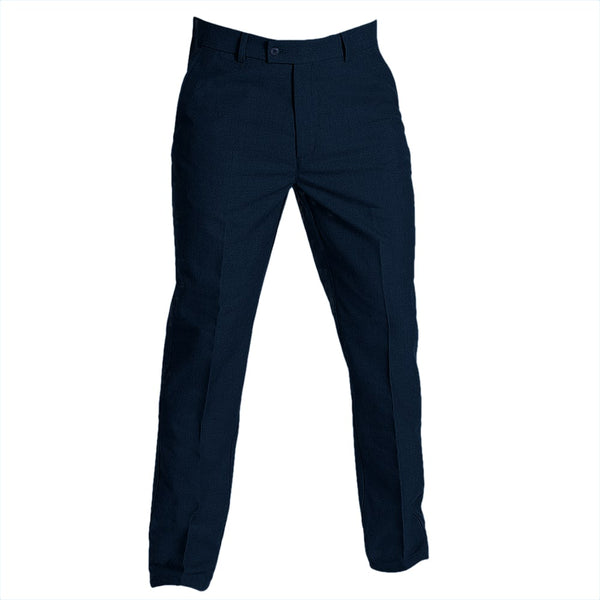 "Trousers Boys Slim (34""Long) Navy"