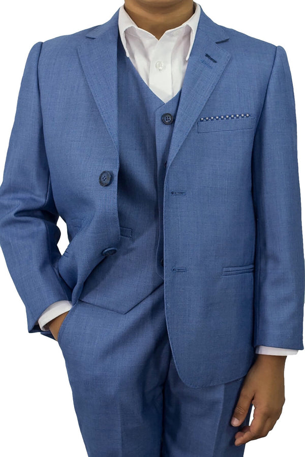 Boys Blue Jay 3pc Suit
