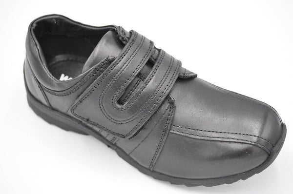 Boys School Shoes Velcro 5513