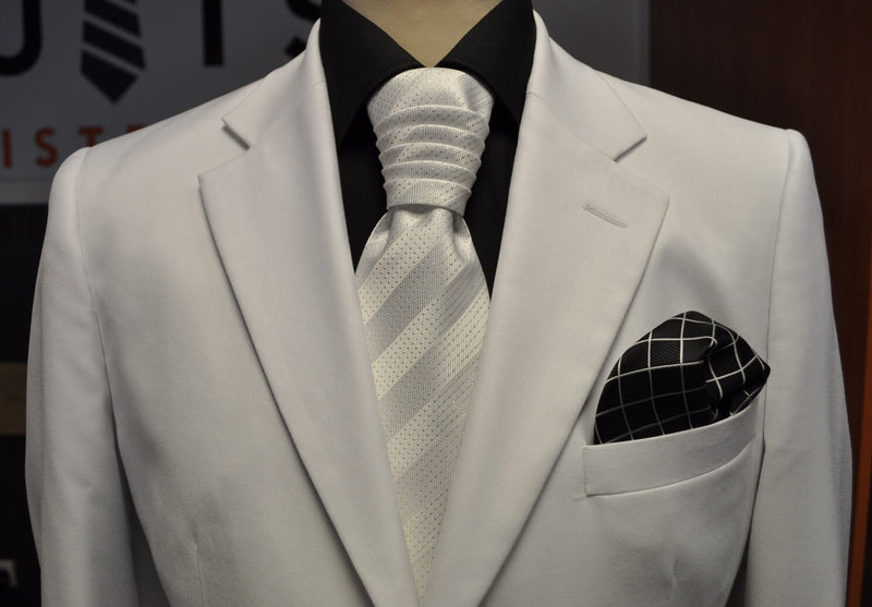 * Karlson White 2pc Suit