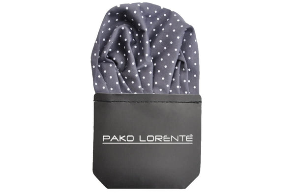 Handkerchief PS120 - Grey /white spots