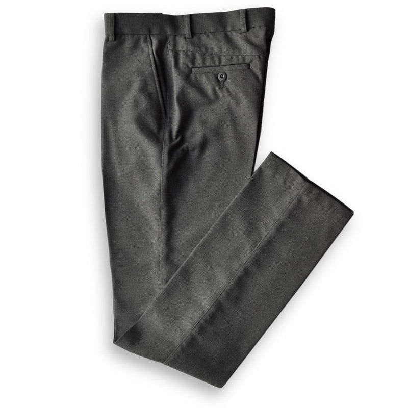 "Trousers Boys Slim (34""Long) Grey"