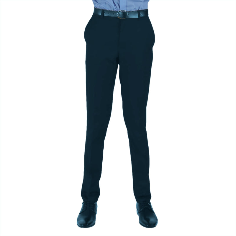 "Trousers Boys Slim - Navy (24""-26"")"