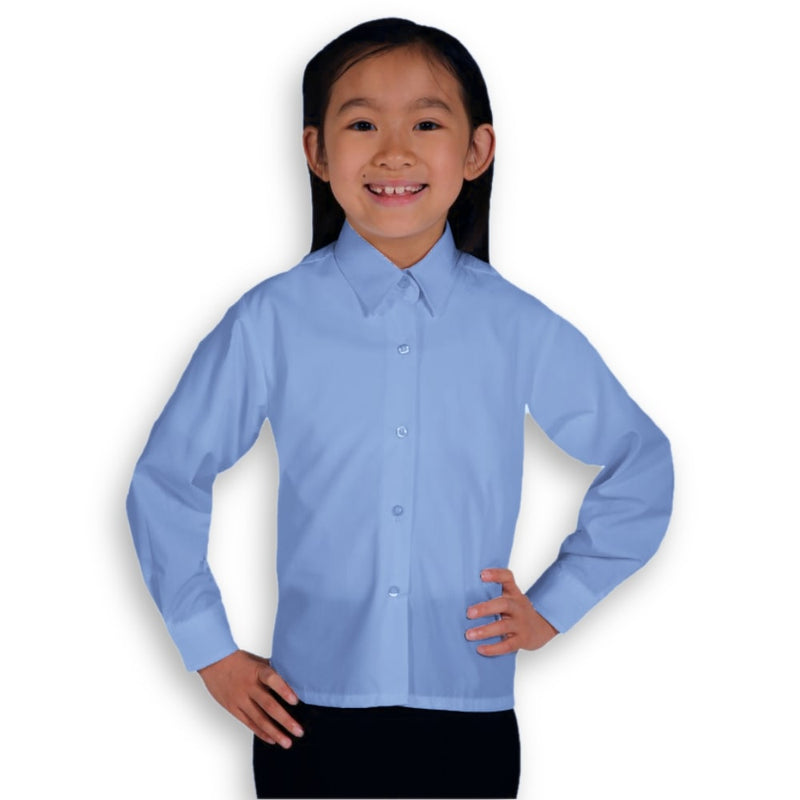 Blouse Blue (age 3-11)