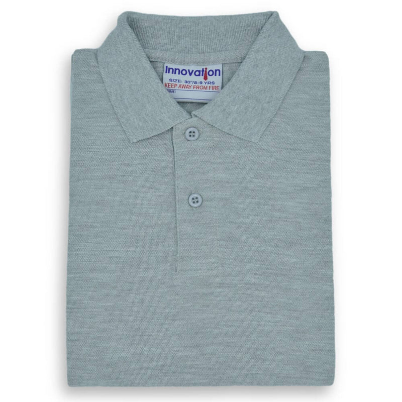 Polo Shirt Grey (12-up)