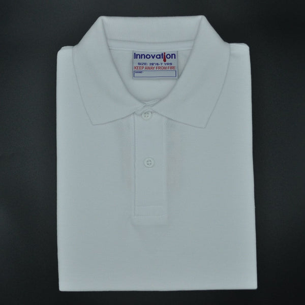 Polo Shirt White (12-up)