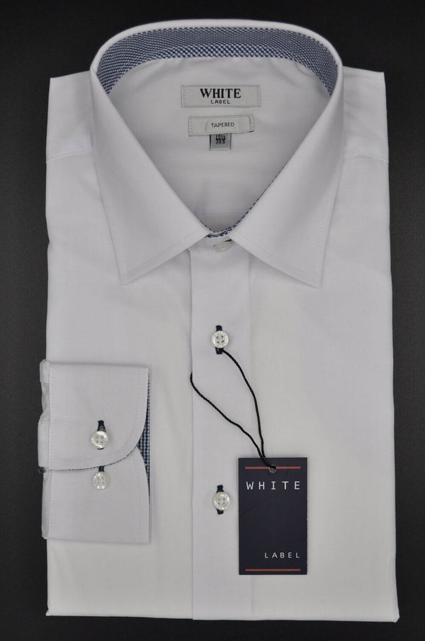 Shirt WL 5076, Tapered, White
