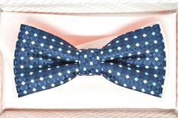 TBOW-10, Navy on Pink Bow Tie