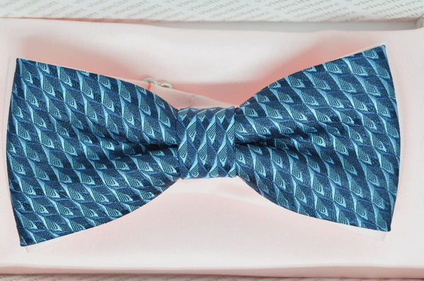 TBOW-11, Navy - Blue Bow Tie
