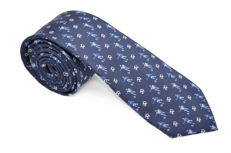 TCPA-2 Navy Football Pattern Tie