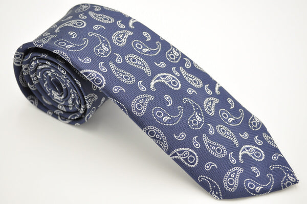 TCPA-45 Navy Paisley Pattern Tie