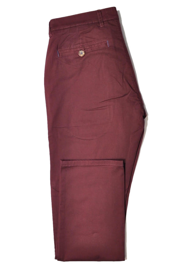 Trousers Chino 5361 Wine, Reg