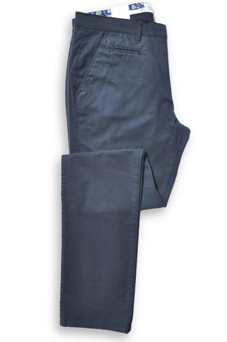 Trousers Navy Chino 8081