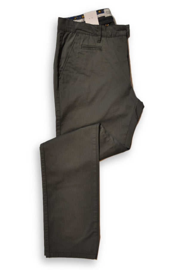 Trousers Grey Chino 8082