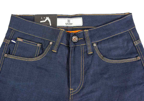Cole Raw Stretch Slim Fit Jeans