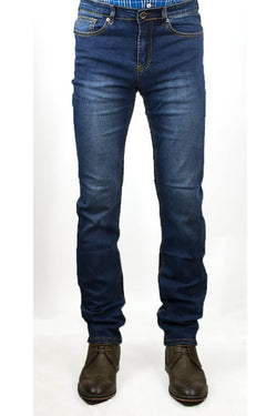 Milano Stonewash Stretch Denim Jeans
