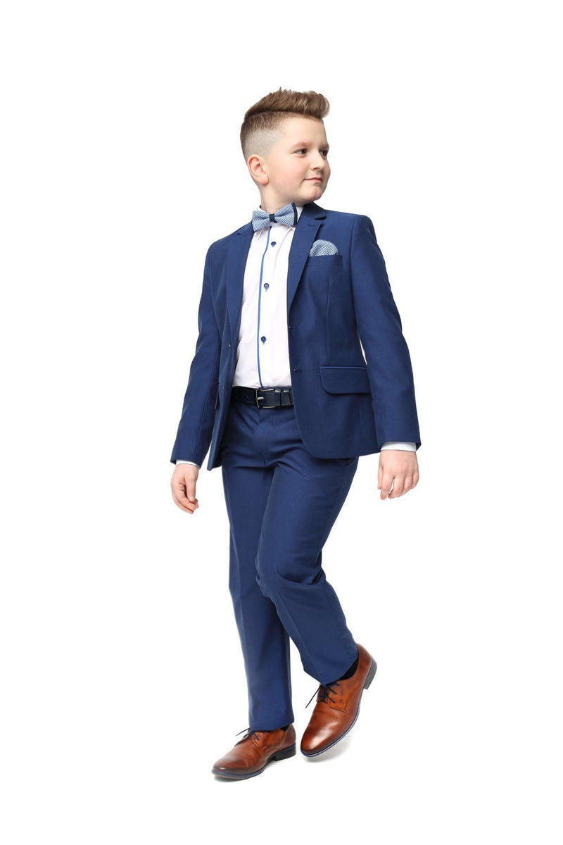 Diego Boys 3pc Suit - Blue