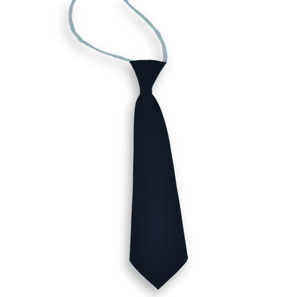 Tie Elastic Boys NS Plain Navy