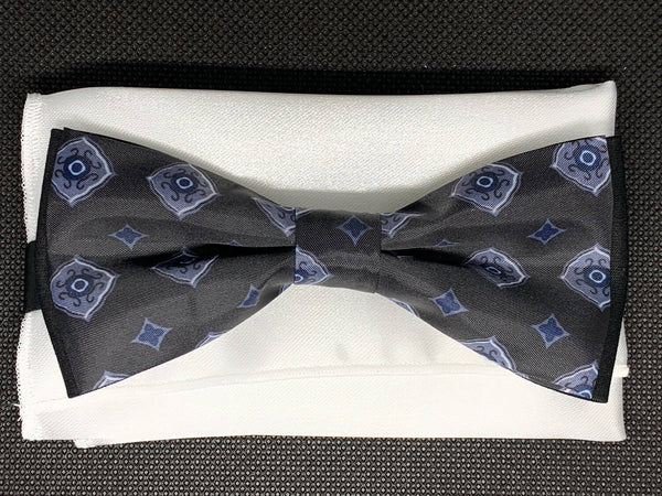 TBOW-34 Dark Grey Bow Tie