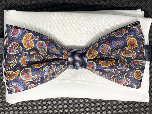 TBOW-35 Paisley Bow Tie
