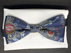 TBOW-36 Floral Pattern Bow Tie