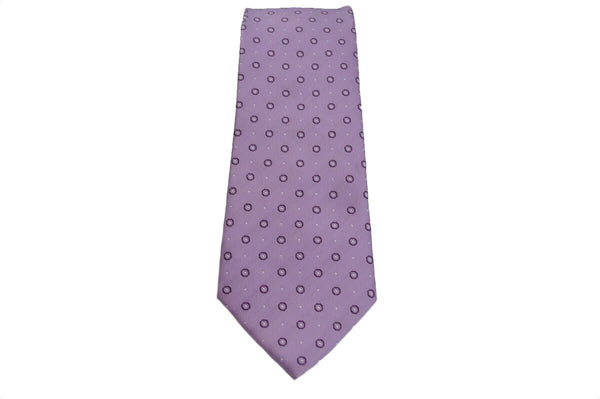 TCPA-77, Lilac Multi Dots Pattern Tie