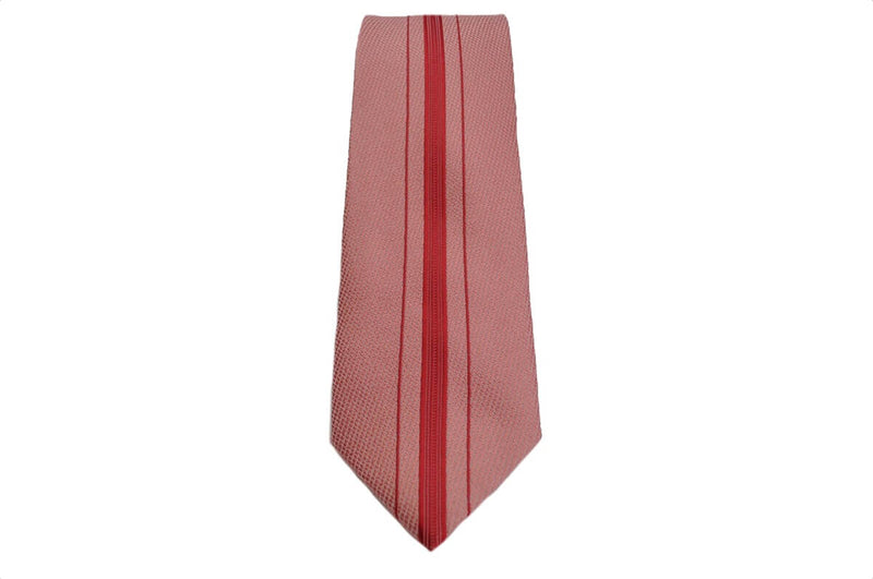TCPA-83, Pink - Red Line Pattern Tie